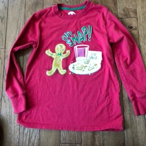 Christmas long sleeve boys T-shirt